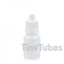 Flacon compte-gouttes de 10ml blanc