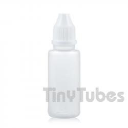Flacon compte-gouttes naturel de 15ml