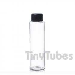 Bouteille TUBE 75ml PET Transparent