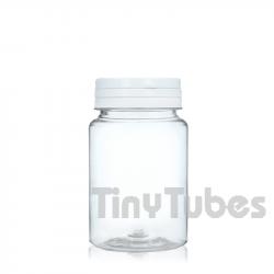 Pilulier de 75ml Couvercle à Charnière