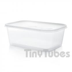 Boîte rectangulaire de 2L avec couvercle