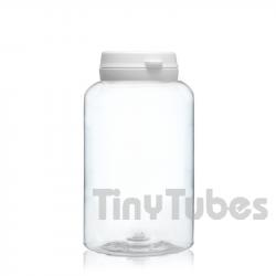 Pilulier de 250ml Couvercle à Charnière