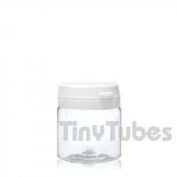 Pilulier de 50ml Couvercle à Charnière
