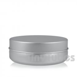 Pilulier en aluminium de 100ml couvercle à pression
