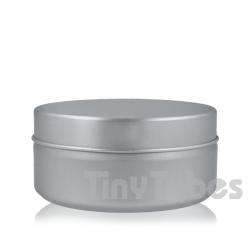 Pilulier en aluminium de 150ml couvercle à pression