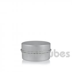 Pilulier en aluminium de 15ml couvercle à pression