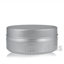 Pilulier en aluminium de 200ml couvercle à pression