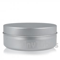 Pilulier en aluminium de 250ml couvercle à pression