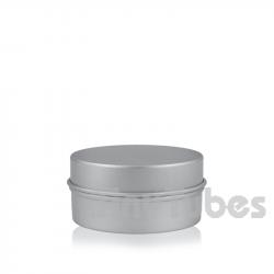 Pilulier en aluminium de 30ml couvercle à pression
