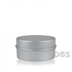 Pilulier en aluminium de 50ml couvercle à pression