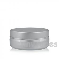 Pilulier en aluminium de 75ml couvercle à pression