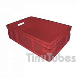 Caisse NE gerbable (60x40x17cm) 35L rouge.